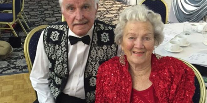 Nick Lees: Love at first sight has lasted 77 years for dancing Edmonton couple