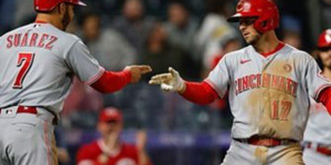 Reds outlast Rockies 6-5 in 12 innings