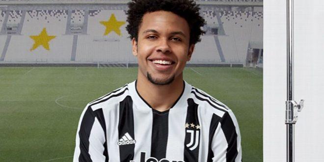 Stars in stripes! McKennie, Ronaldo unveil Juve's new 2021-22 home kit