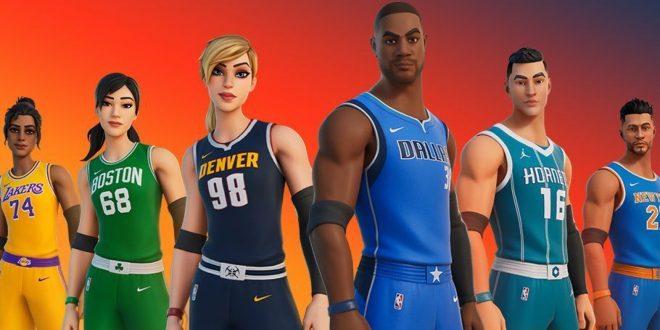 Fortnite and the NBA team up for 'Fortnite x NBA –
