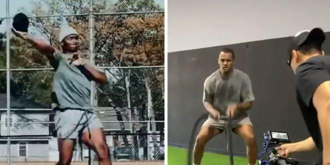 Deshaun Watson Resurfaces on IG to Show Everyone He's NFL Ready
