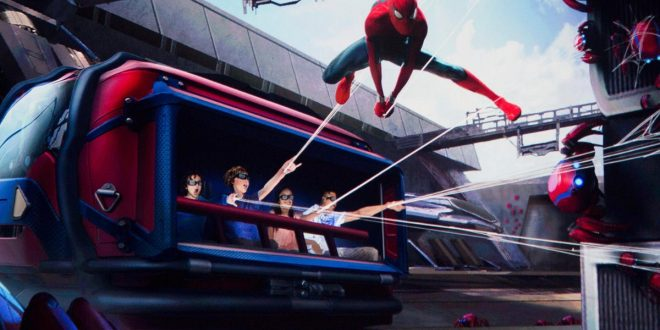 Disney's New Spider-Man Ride Will Allow You to Purchase Upgrades