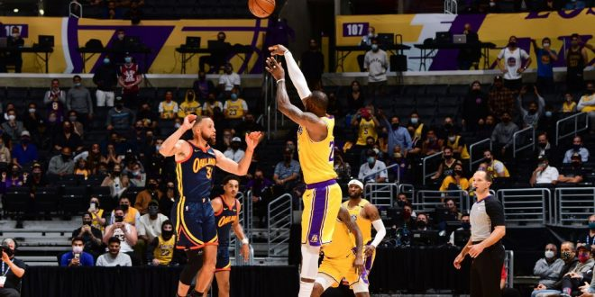 The Lakers took the Warriors' best punch and advanced