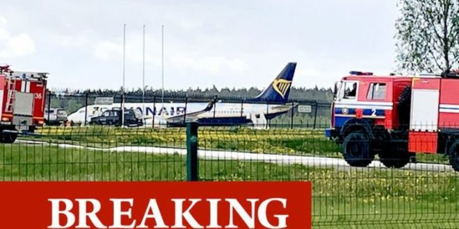 Ryanair bomb alert: Flight forced into emergency landing – fighter jet sent to intercept