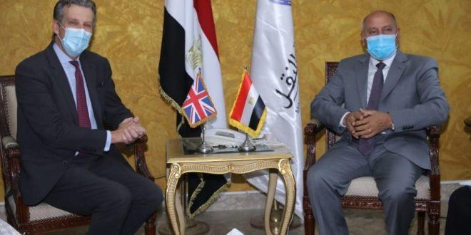 UK-Egypt cooperation on transportation projects