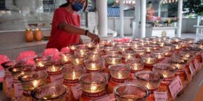 Wesak Day celebrated moderately under new normal
