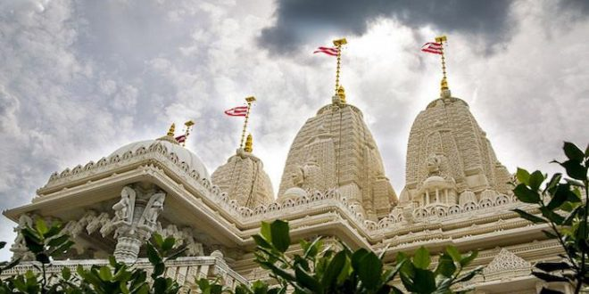 Hindu sect accused of using forced labour to build temple in US