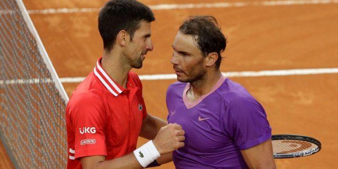 Djoker, Nadal, Fed in same half of French draw