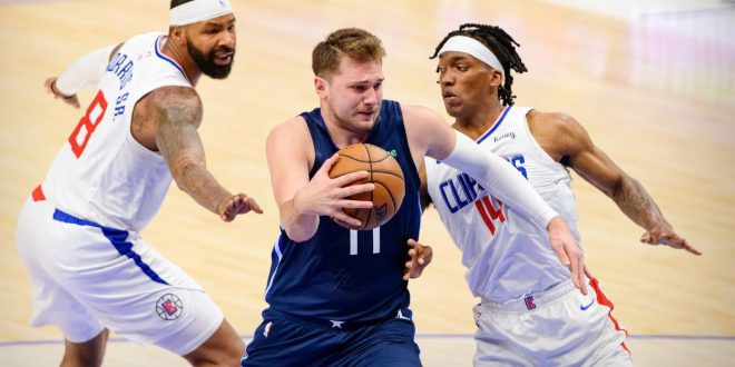 Doncic questionable for Game 4 with neck strain