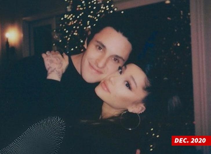Ariana Grande and Dalton Gomez Together
