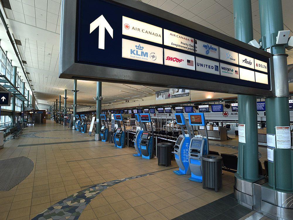 The Edmonton International Airport.