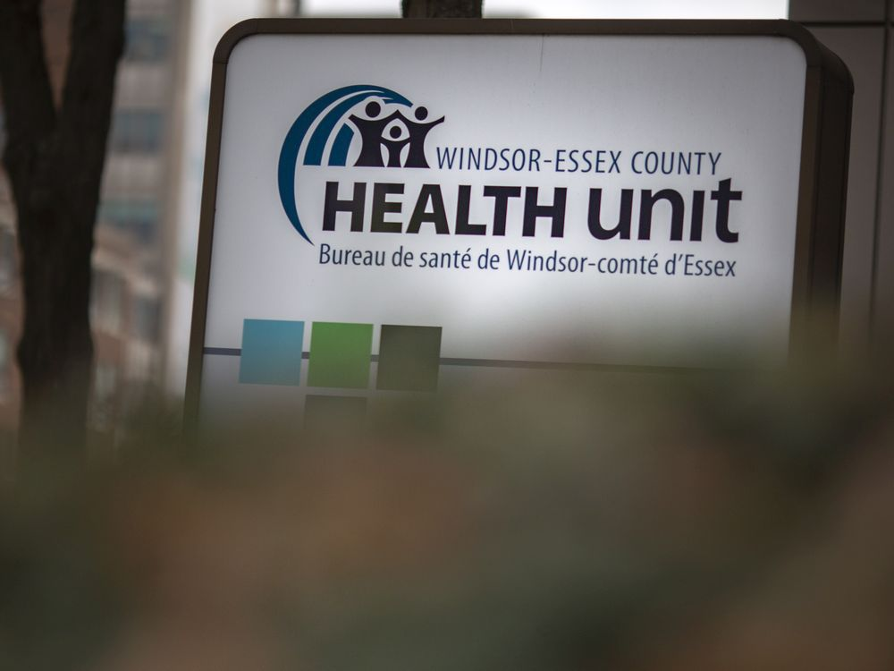 Exterior of the Windsor-Essex County Health Unit, photographed Nov. 17, 2020.