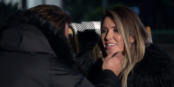 'You're Growing On Me': The Hills' Audrina Shares A First Kiss With Sean