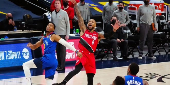 Social media responds to Dame's record-setting Game 5 performance