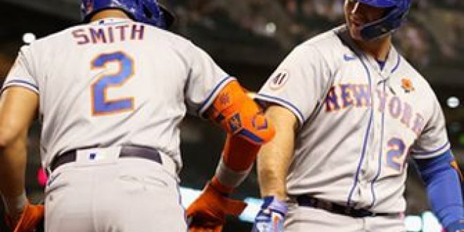 Pete Alonso homers, drives in four in triumphant return from IL as Mets top D'Backs, 6-2
