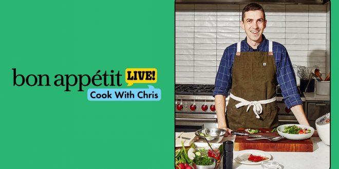 Cook Along LIVE With Chris Morocco!
