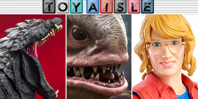 The King of the Monsters and the Queen of Jurassic Park Are the Best Toys of the Week