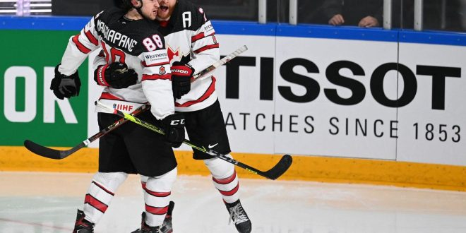 Canada earns spot in world hockey championship final with 4-2 win over U.S.