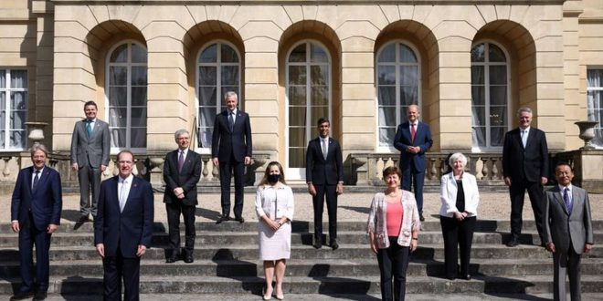 G7 finance ministers reach historic deal to set 15 per cent minimum corporate tax rate
