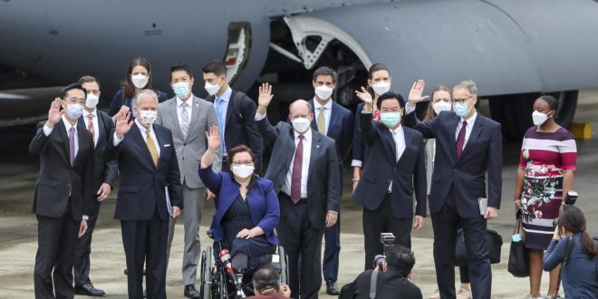 Senators announce U.S. donating 750,000 vaccine doses to Taiwan