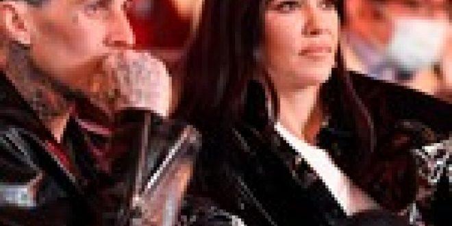 Kourtney Kardashian Rocks Blink-182 Hoodie While Lip-Syncing New Travis Barker-Produced Track