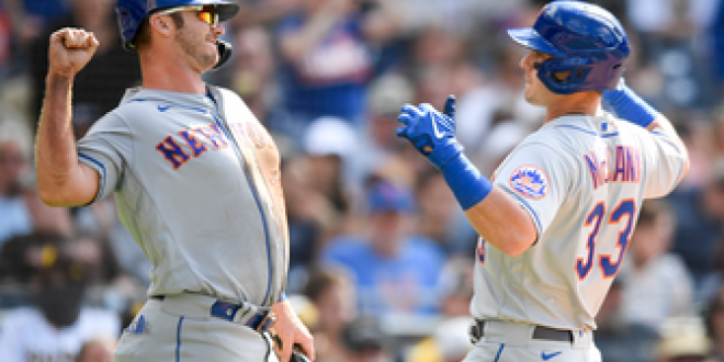 James McCann, Dominic Smith go deep to carry Mets past Padres, 6-2