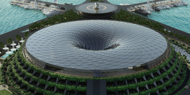 Qatar eco-hotel to generate energy from rotating in ocean