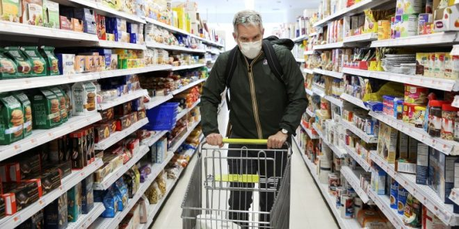 Consumer Price Surge Breaks 13-Year Record as Inflation Threat Looms