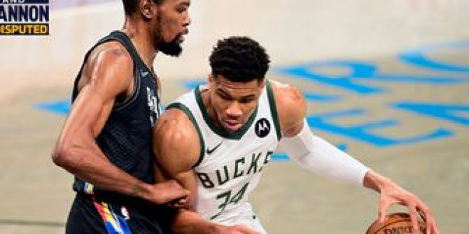 Skip Bayless: I've been driving the Nets' bandwagon all year; I think Giannis and the Bucks will get swept I UNDISPUTED