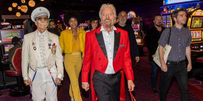 Richard Branson Not Focused on Space Trip, All About Vegas Hotel Opening