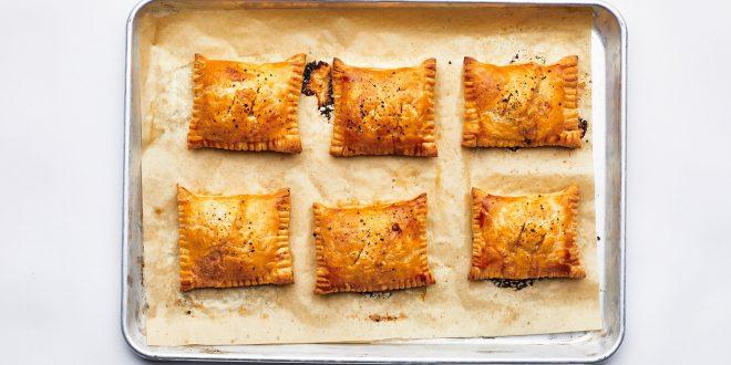 Cheesy Tomato Hand Pies