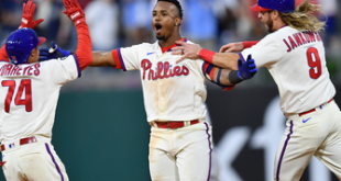 Yankees' comeback falls short as Phillies get walk-off, 8-7 win in extras