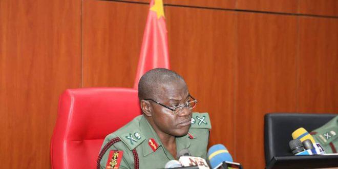 How I will address Nigeria's security challenges – COAS Yahaya