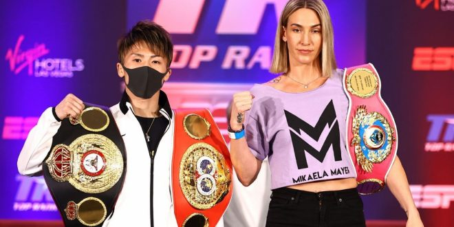 Ringside Seat: Naoya Inoue, Mikaela Mayer, Jermall Charlo to defend titles; Anderson Silva tries boxing … again