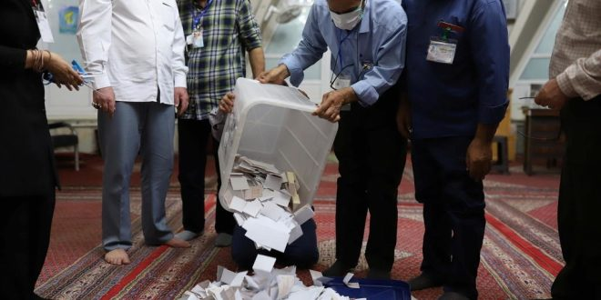 Ultraconservative cleric Ebrahim Raisi ahead in partial results from Iran's presidential election