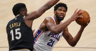 Embiid frustrated with officiating despite win