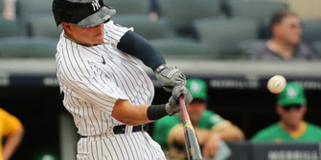 Gio Urshela crushes go-ahead homer lifting Yankees past Athletics, 7-5