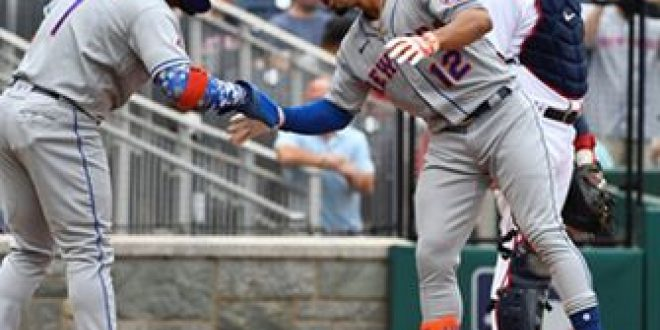 Francisco Lindor clubs two homers to lead Mets past Nationals, 5-1, in Doubleheader Game 1