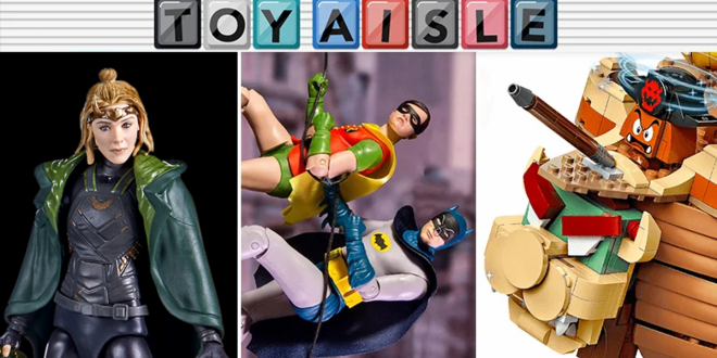 Holy Merchandising, Batman, It's the Best Toys of the Week!