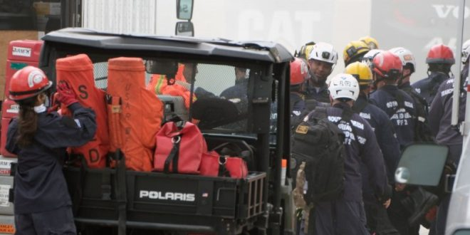 Rescue ops continue overnight in Surfside condo collapse
