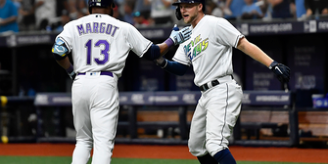Rays rack up 15 hits in 13-3 rout of Angels