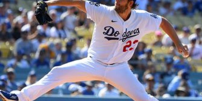 Clayton Kershaw's 13-strikeout performance leads Dodgers to 7-1 win over Cubs