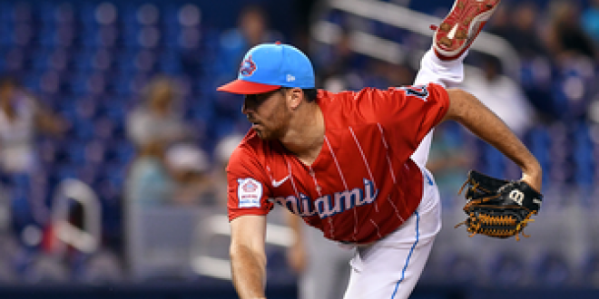 Zach Thompson dominates with 11 strikeouts over six innings, Marlins edge Nationals, 3-2