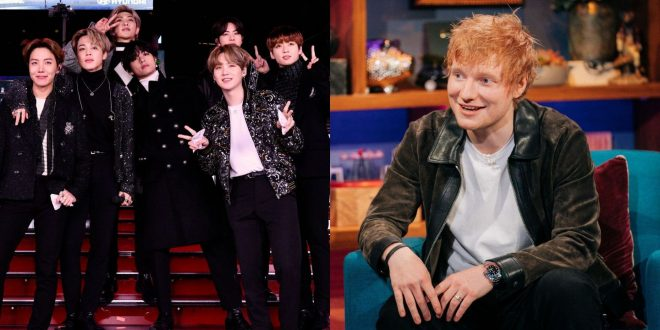 BTS Are Giving You 'Permission To Dance' With New Ed Sheeran Collab