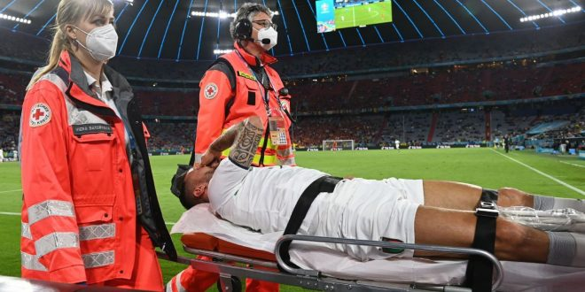Italy's Spinazzola out of Euros with torn Achilles