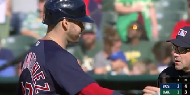 J.D. Martinez lines RBI single to extend Red Sox lead to 3-1