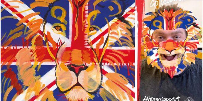 Team GB-inspired art turned into AR filters by Purplebricks