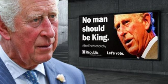 Royal backlash: Billboards against Prince Charles to be erected across UK