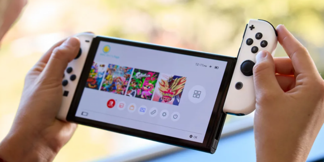 Nintendo's New OLED Switch Is Real and It Arrives on October 8