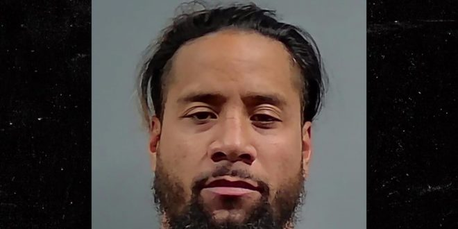WWE's Jimmy Uso Arrested For DUI Again, Cops Say Wrestler Blew A .205